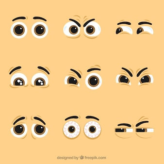 Pack of nice character eyes