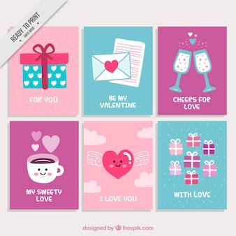 Пакет хороших карт валентина