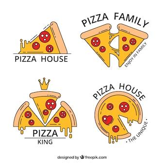 피자 로고 팩