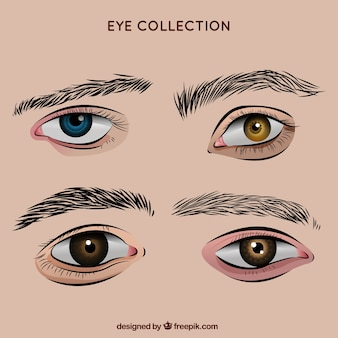how to draw mean eyes