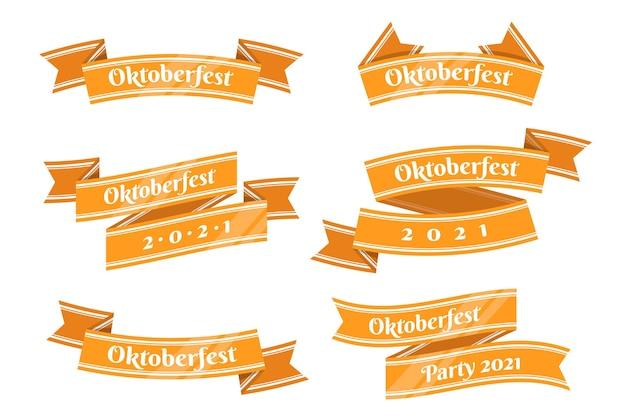 Confezione di nastri più oktoberfest