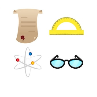 Pack of science objects