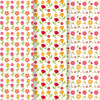 Pack of spring patterns