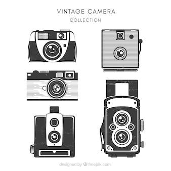 Pack of vintage cameras