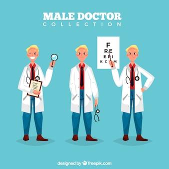 Пакет с смайликами и сердитыми докторами