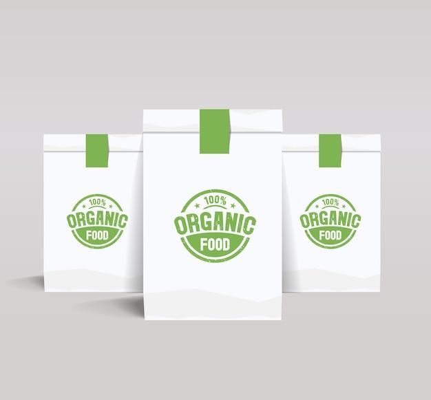 Шаблон дизайна упаковки