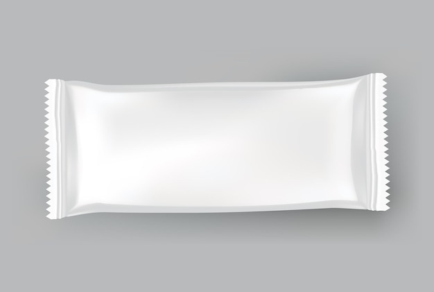 Packaging mockup or pouch template