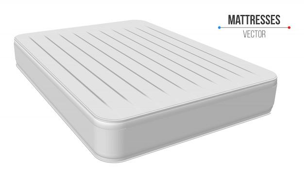 Padded comfortable sleeping mattresses set.