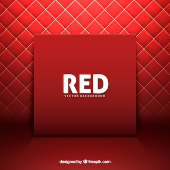 Padding red background