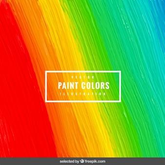 Краска фон с мазком