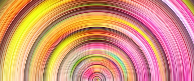 Paint line bright circle background