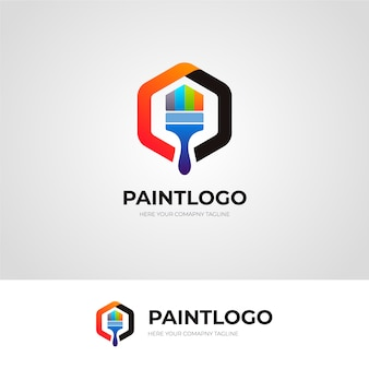 Paint logo design