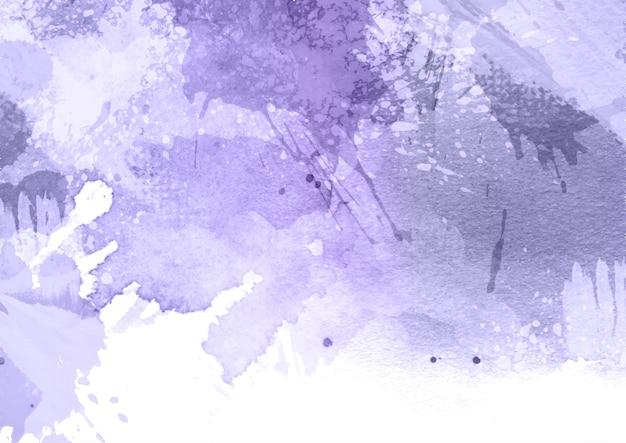 詳細な水彩テクスチャと塗られた背景