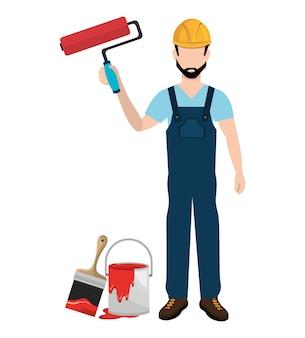 Painter worker