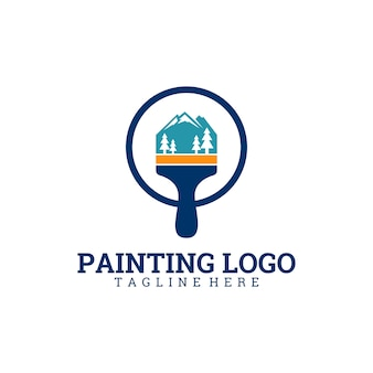 Живопись логотипа
