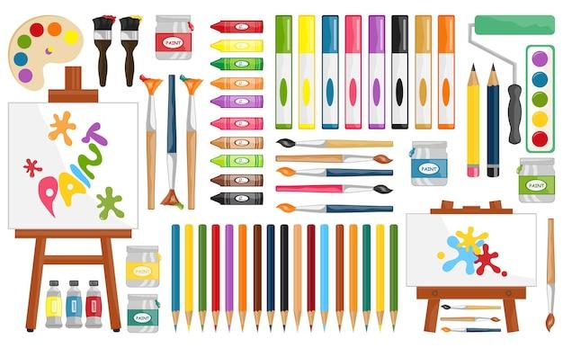 絵画用品デジタルクリップアート絵画とブラシアートパーティー個人的および商業的使用
