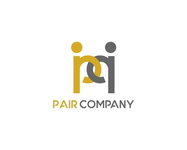 Pair logo company
