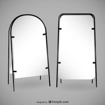 Пара пустых рекламных щитов