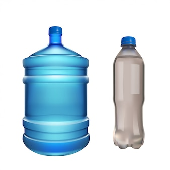 Pair water bottles
