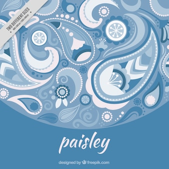 Paisley, abstract background