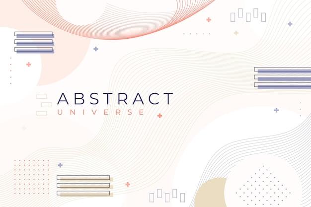 Бледный плоский дизайн абстрактный фон