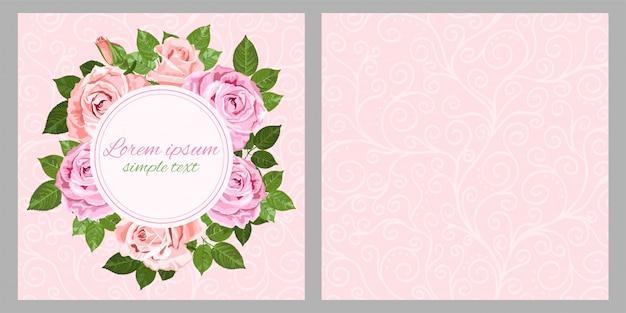 Бледно-розовые розы-32