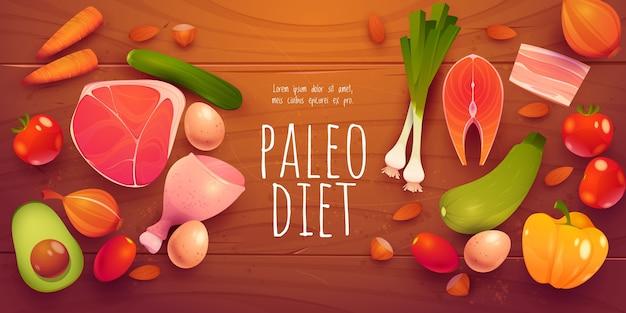 Paleo 다이어트 성분 컬렉션