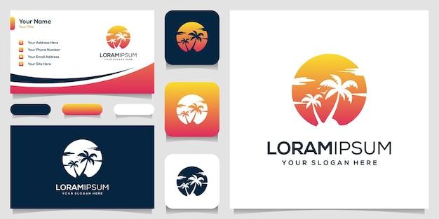 Пальмовый логотип