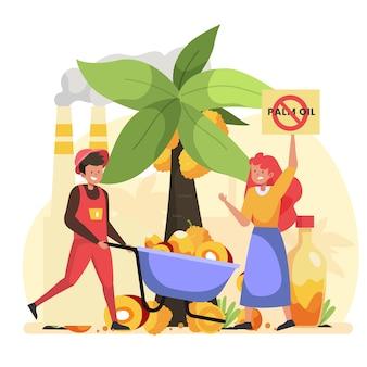Концепция производства пальмового масла