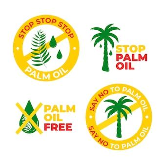 パーム油サインセット