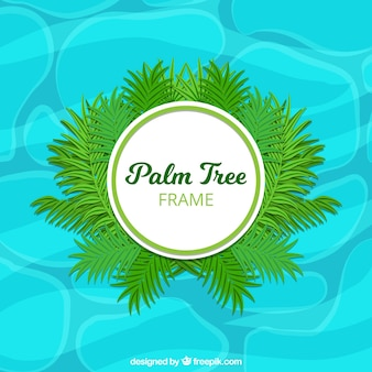 Disegno palma telaio
