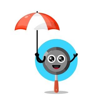 Пан зонтик милый персонаж талисман