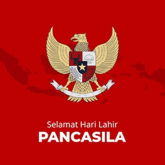 Pancasila illustration