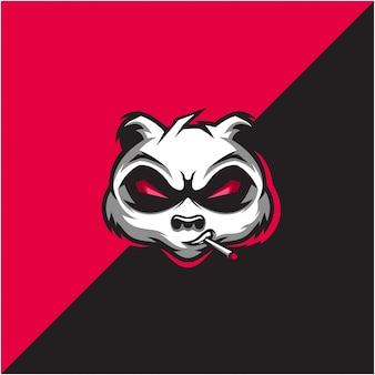 Panda head logo