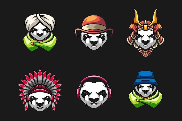 Panda head set  design