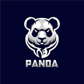 Панда логотип иллюстрация