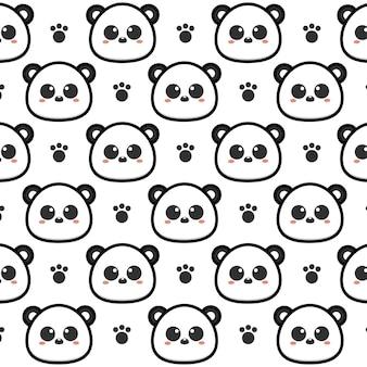 팬더 원활한 패턴