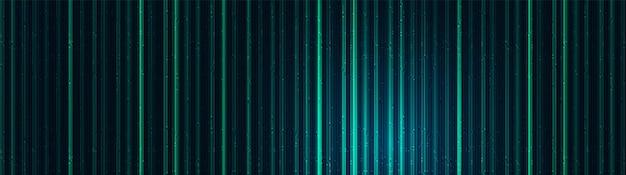 パノラマセキュリティ技術の背景、ハイテクデジタルと音波のコンセプトデザイン、テキスト入力用の空き領域、ベクトルイラスト。