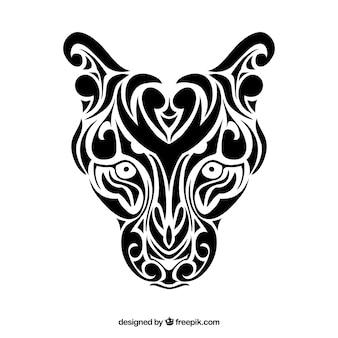 Panthera племенных векторные