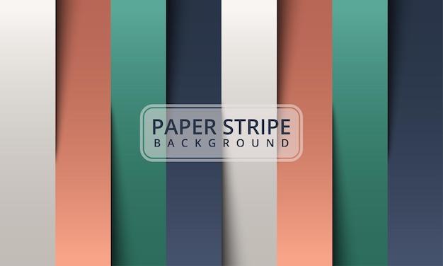 Sfondo astratto di carta con forme di origami