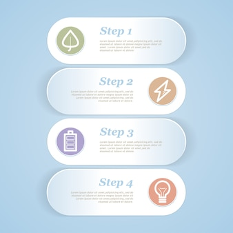 Paper background with numbers for infographic  representation.  illustration.