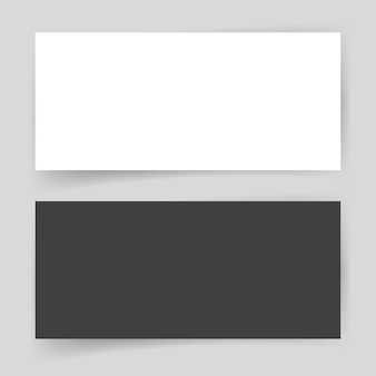 Бумажная карта пустой пустой шаблон для презентации фирменного стиля