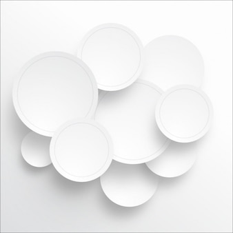 Paper circle background
