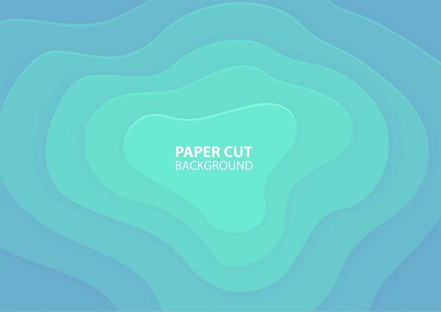 Paper cut. origami background