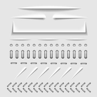 Обрезка бумаги