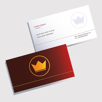 Paper envelopes, corporate identity template on white background illustration