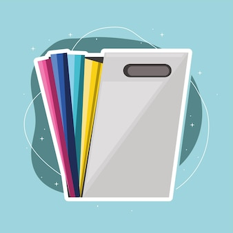 Paper filing folder