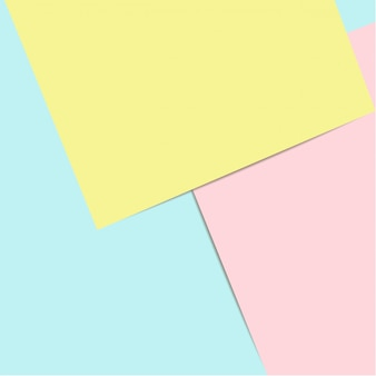 Paper flat lay background