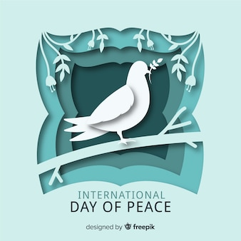 Paper international day of peace