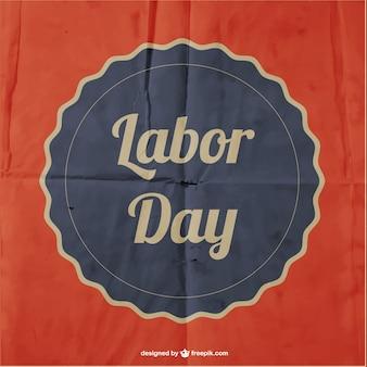 労働の日ベクトル紙のポスター